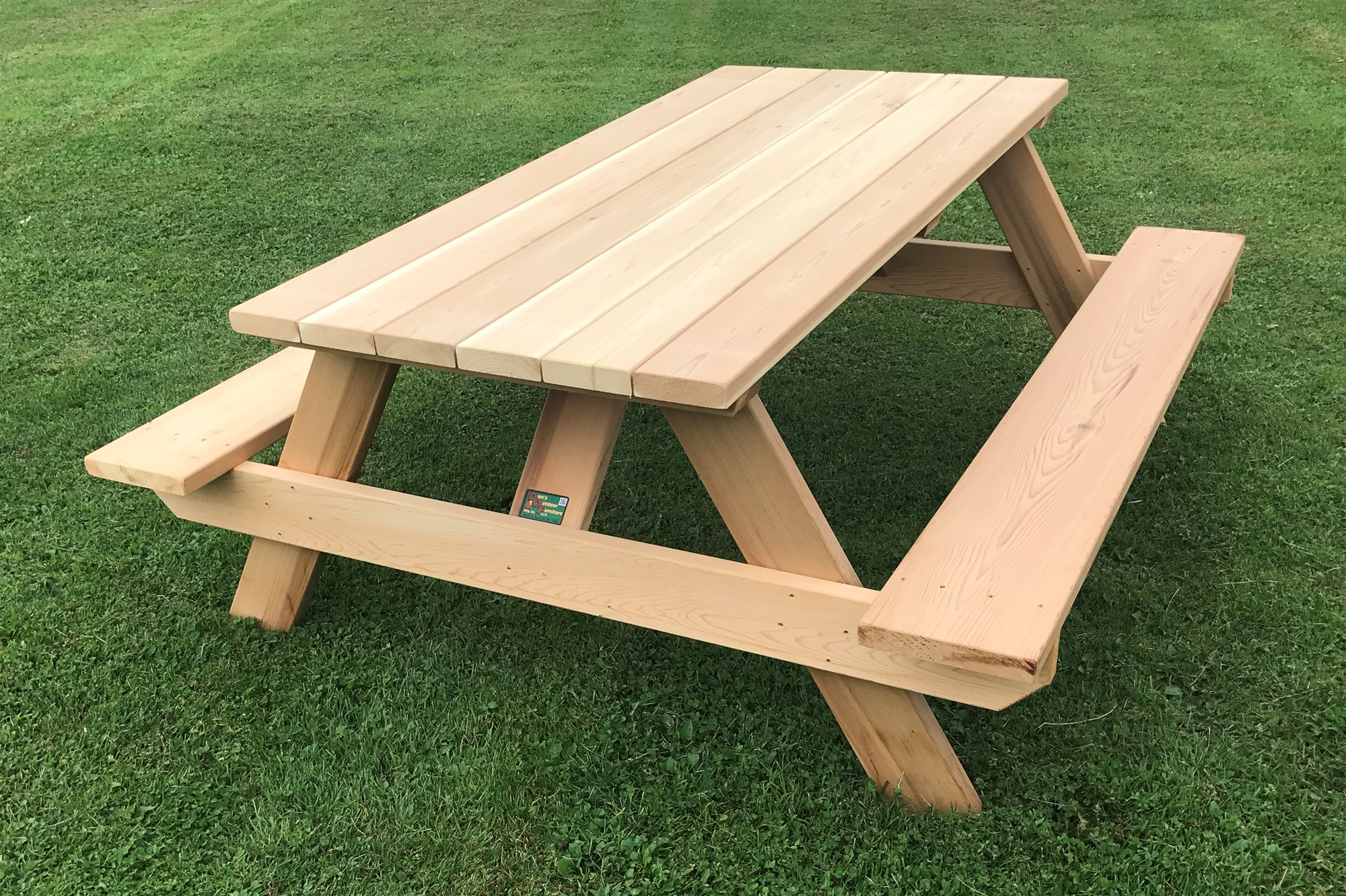 Classic 6 Heavy Duty Wooden Picnic Table For Home Or Business