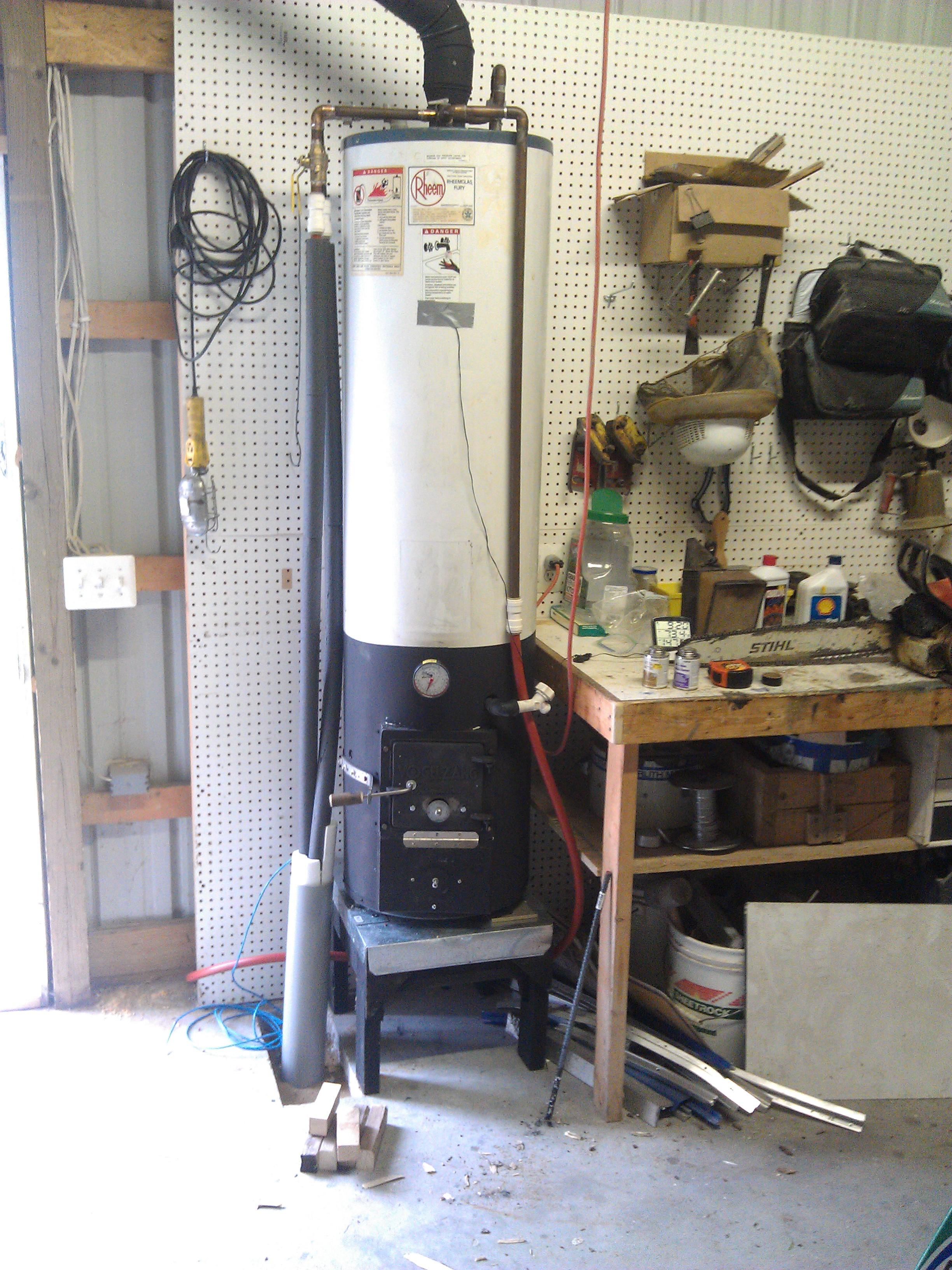Wood Fired Water Heater Dan S Workshop Blog