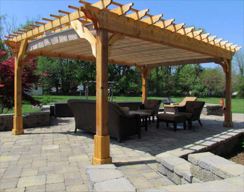 Get Captivating And Attractive Pergola Designs For Your
