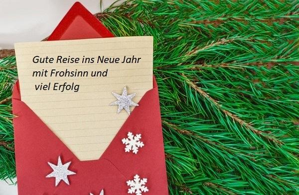 Поздравления с Новым годом на немецком языке