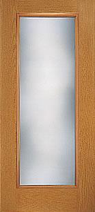 Fiber Classic Oak Hinged Patio Door