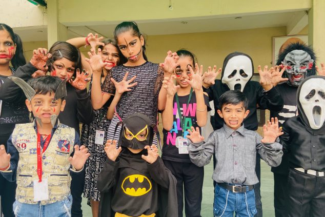 we celebrate Halloween Day at Das Universal Academy