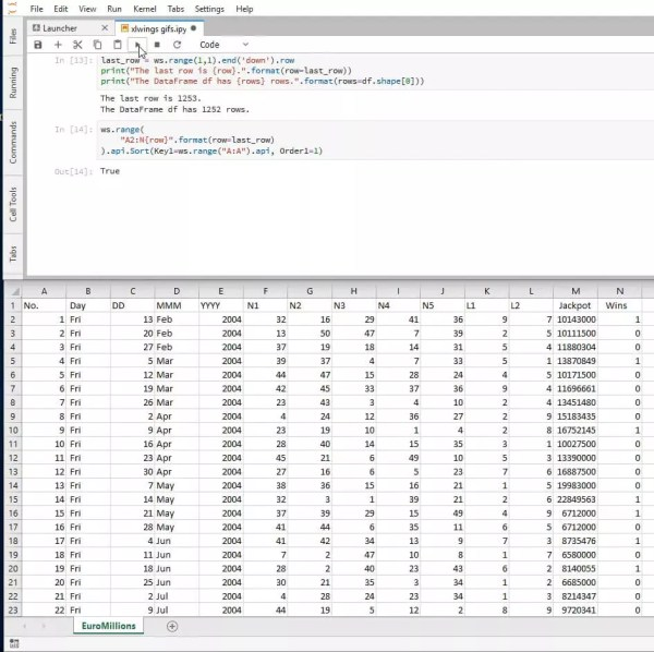 python how to write a value into excel cell # 5
