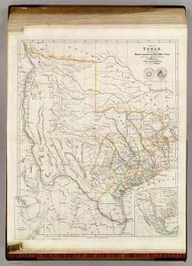 Map Of Texas    Arrowsmith  John   1844