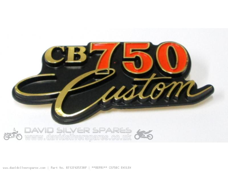 David Silver Spares USA - Honda CB750C CUSTOM 1982 USA ...
