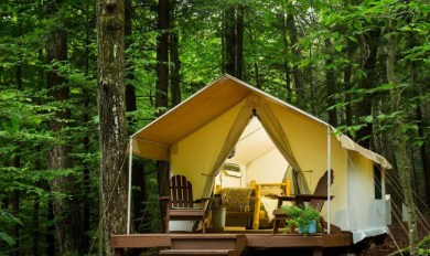 Bison Tent Wood Burning Stove | Wooden Thing
