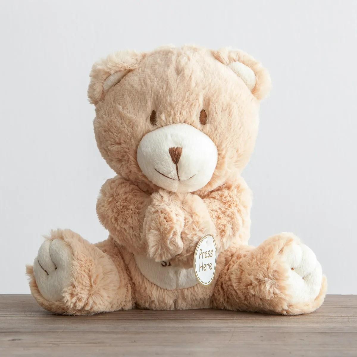 Prayer Bear Lay Down Sleep