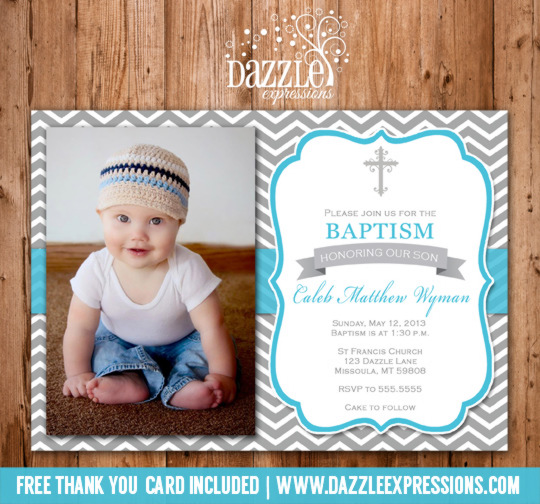 How Make Invitation Card Christening