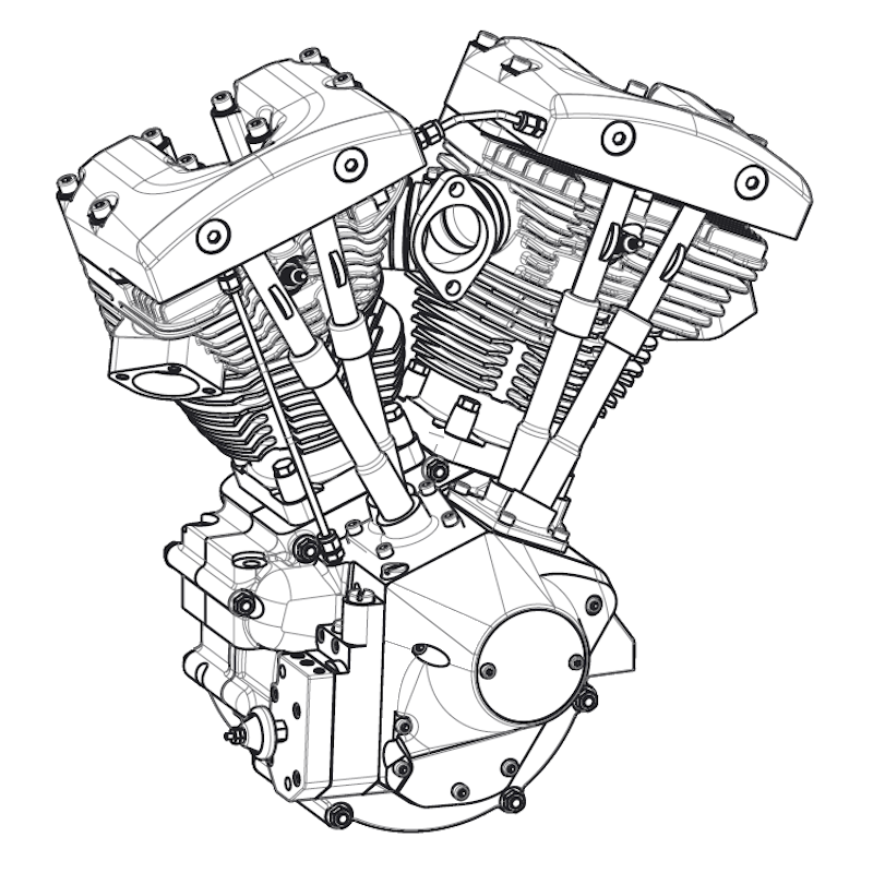 Ford Flathead V8 Blueprint