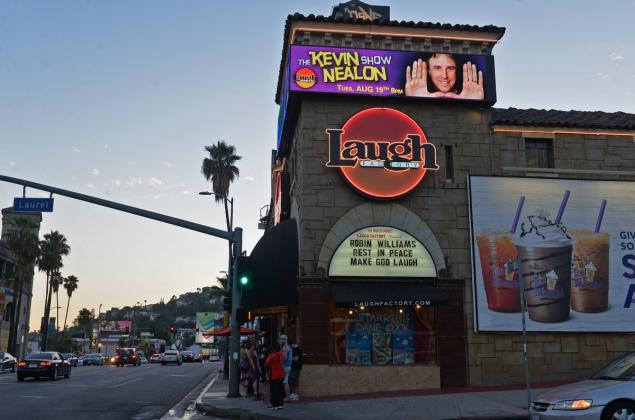 Laugh Factory Endurance Record