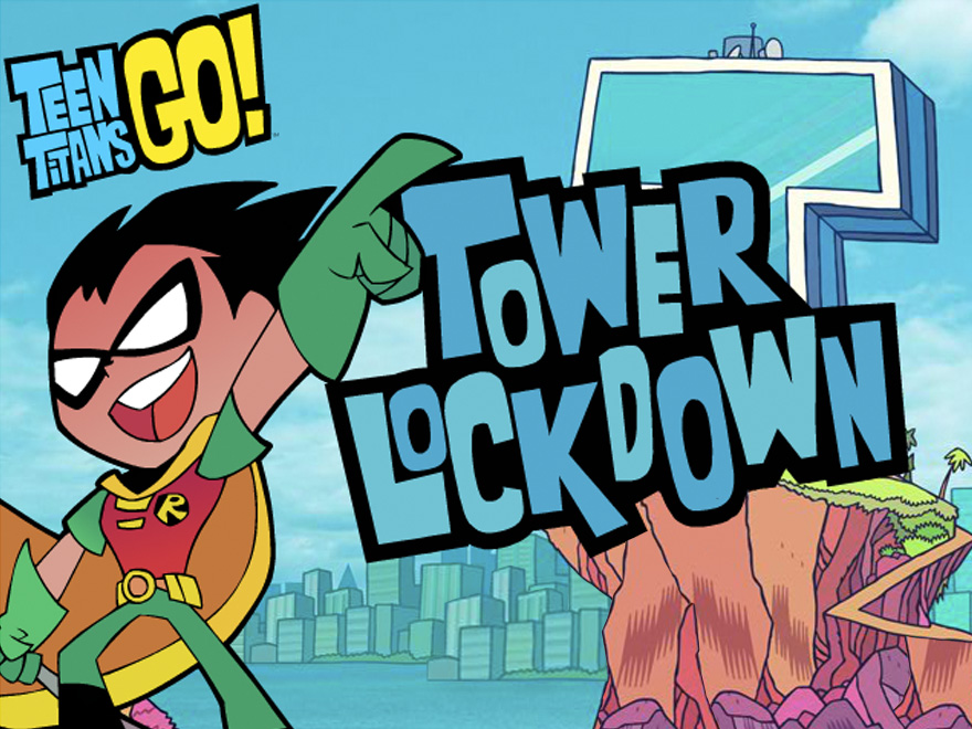 Tower Lockdown: New Teen Titans Go! Game | DC