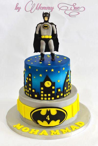 Bolo Do Batman Veja 70 Modelos E Como Fazer Em Casa
