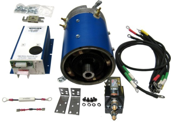 Golf Cart Electric Motors   High Speed Performance   Upgrade Parts     Combo Kit