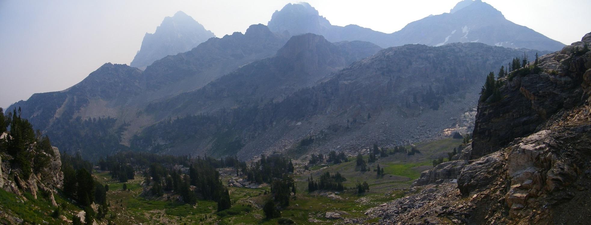 Alaska Park Grand Teton Basin National Elevation