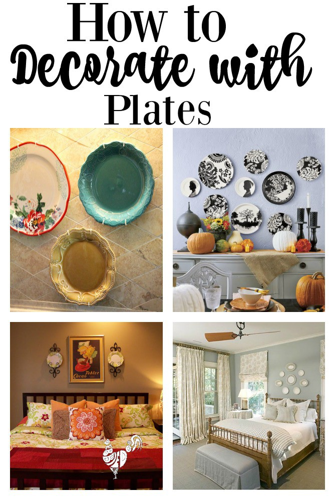Decorating with plates   Debbiedoos decorating with plates and how to