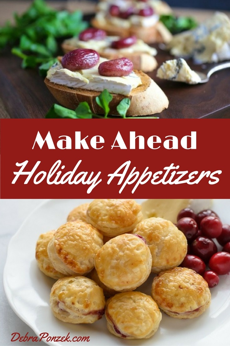 Make Ahead Appetizers Christmas Party