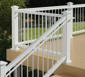 When Do You Need To Install A Graspable Secondary Handrail On A | Graspable Handrail For Deck Stairs | Simple | Made 2X4 | 2 Foot | Code Compliant | Tall