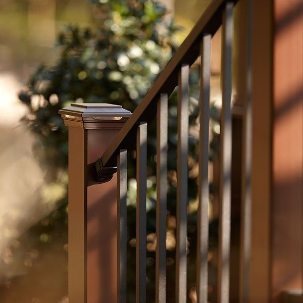 Signature Stair Rail Baluster Kit By Trex Decksdirect | Wooden Stair Rails And Balusters | Stair Parts | Wrought Iron Balusters | Stair Spindles | Newel Posts | Stair Treads
