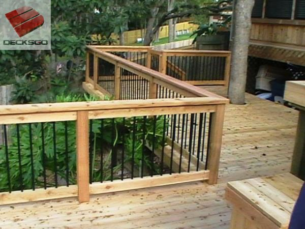 Deck Railing Repair