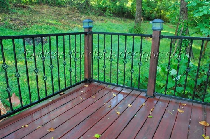 Metal Deck Railing Wood Aluminum Galvanized Iron And Stainless   Metal Handrails For Decks   Patio   Decking   Fence   Pool Deck   Vertical Metal