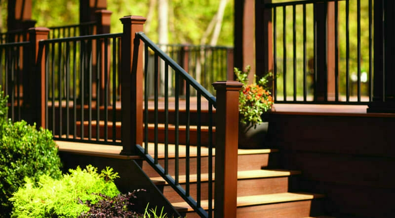 Choose A Metal Railing For Years Of Beauty And Durability   Metal Handrails For Decks   Small Deck   Outdoor   Residential   Metal Rope   Decorative