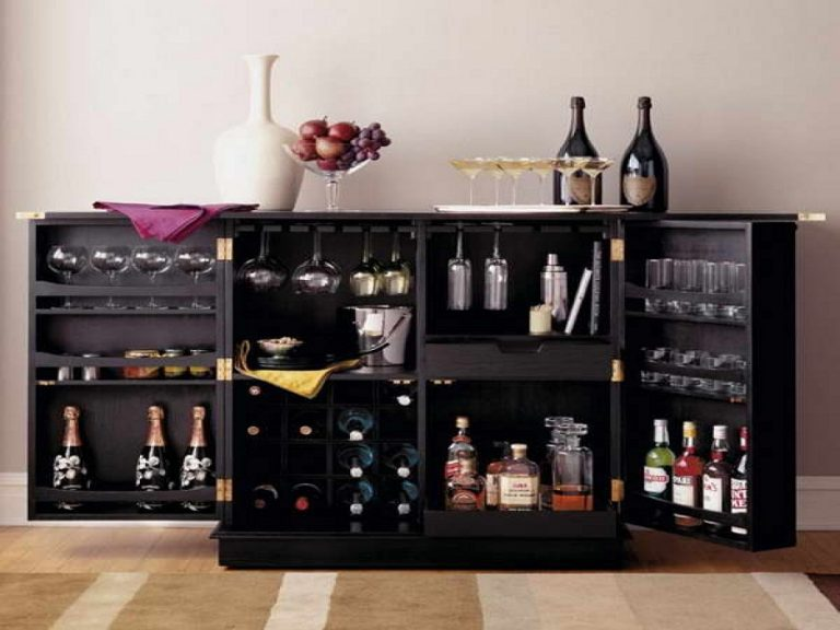 The Stylish And Efficient Liquor Cabinet Ikea Decohoms