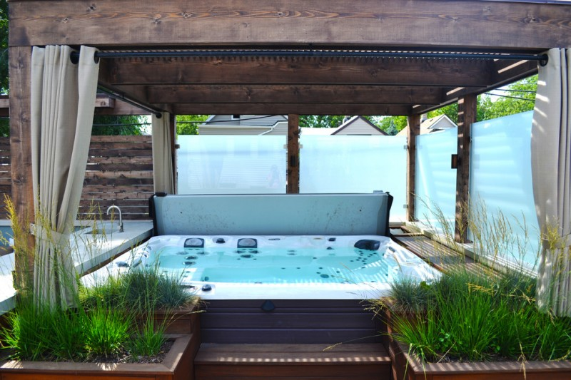 Marking Your Private Space Enjoying Your Time In Hot Tub
