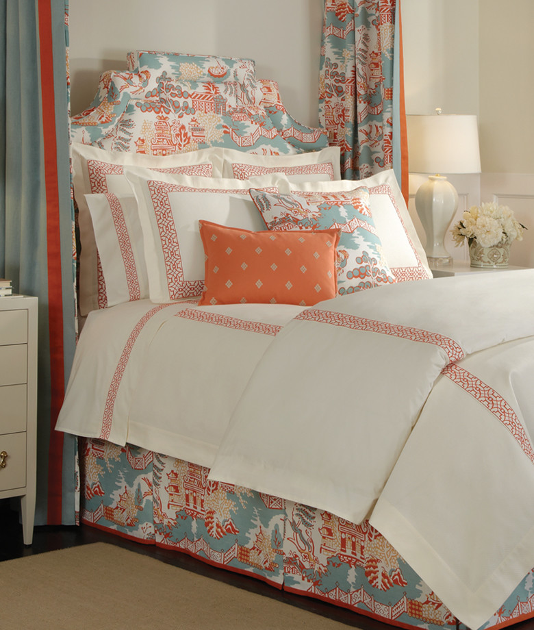 Glamorously Beautiful Asian Inspired Bedding Designs
