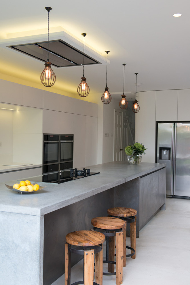 And White Yellow Kitchen Color