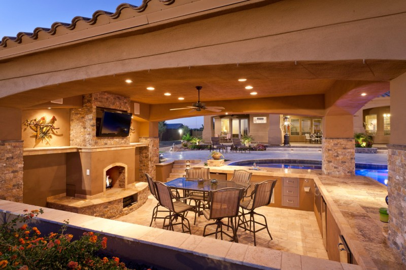 Cool Outdoor Living Areas