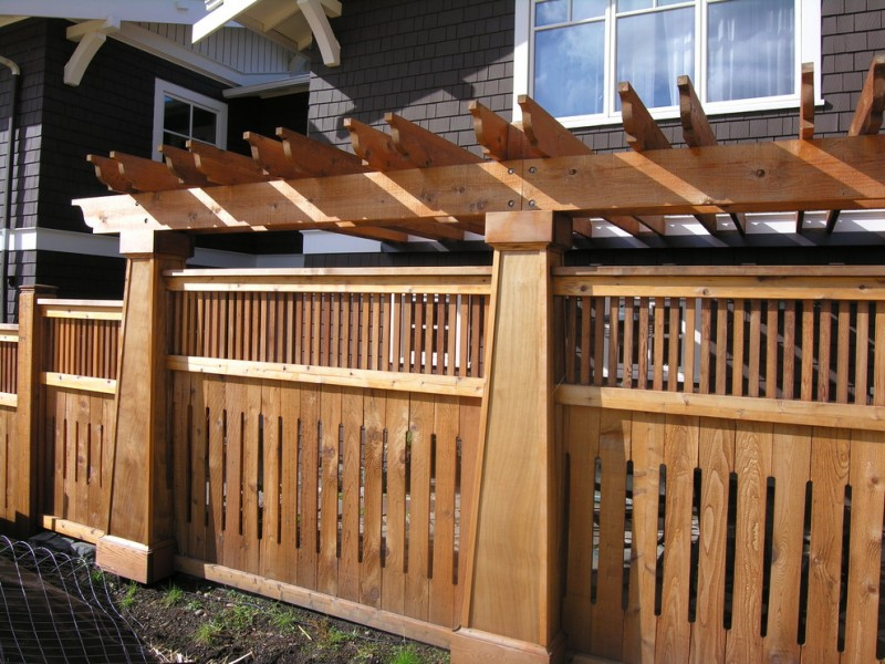 10 Inspirational Ideas Of Craftsman Style Fence Decohoms