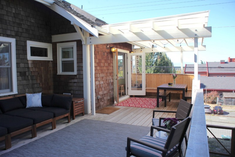 Affordable Pergola On Existing Deck Ideas For Home