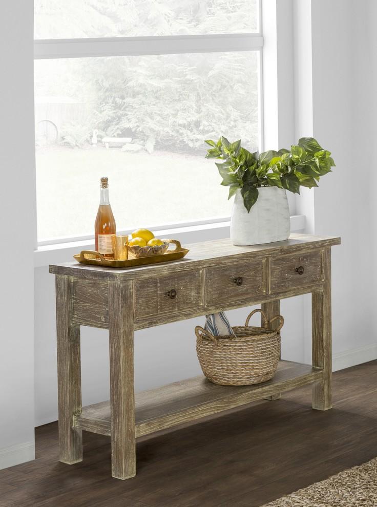Rustic Raw Wood Furniture