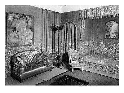 Complete Art Deco Interior Design   Get the Whole Look  Jeanne Lanvin s Bedroom
