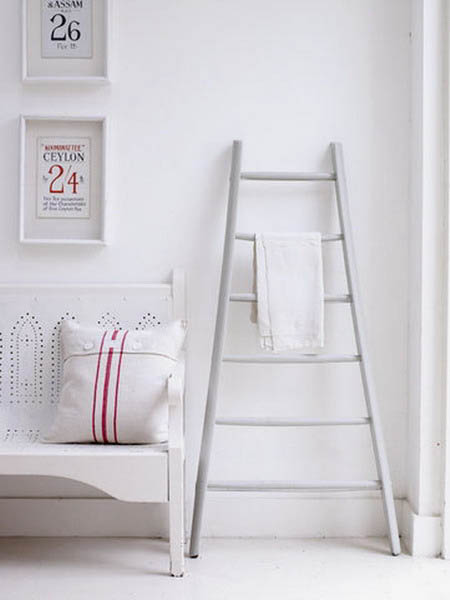 Interior Decorating With Wooden Ladders Creative Room