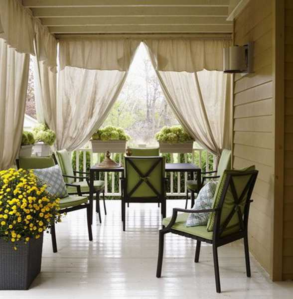 Yellow Front Porch