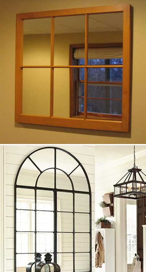 Modern Window Mirror Designs Bringing Nostalgic Trends