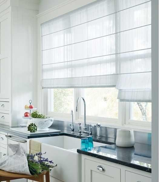 Contemporary Kitchen Roller Blinds