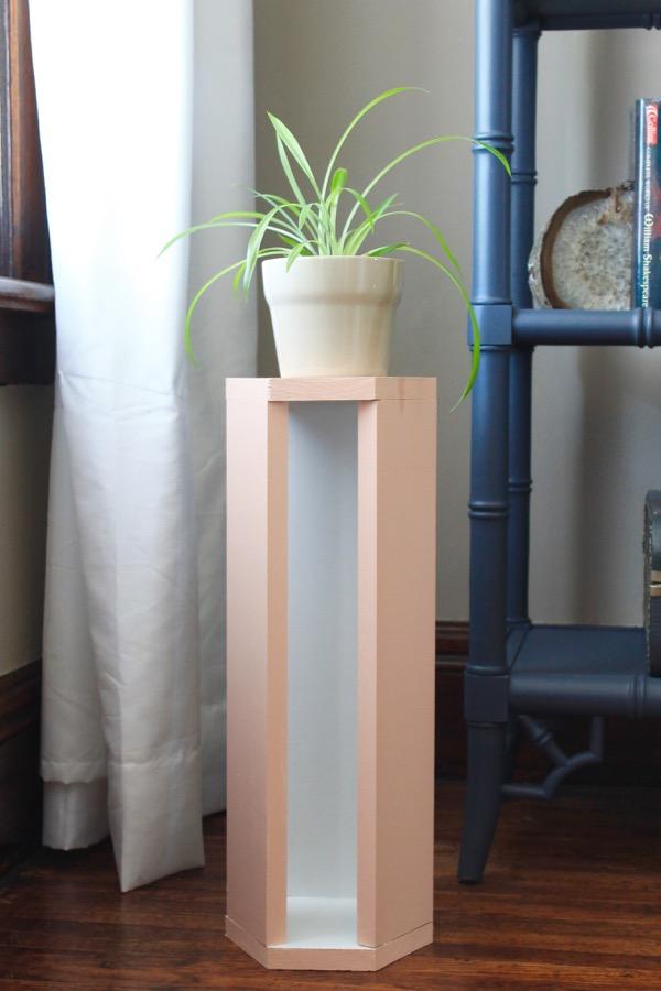 Diy Wood Plant Stand 187 Decor Adventures