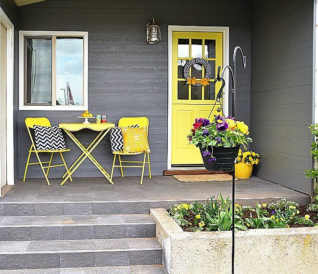 Ideas Decorating Small Front Porch