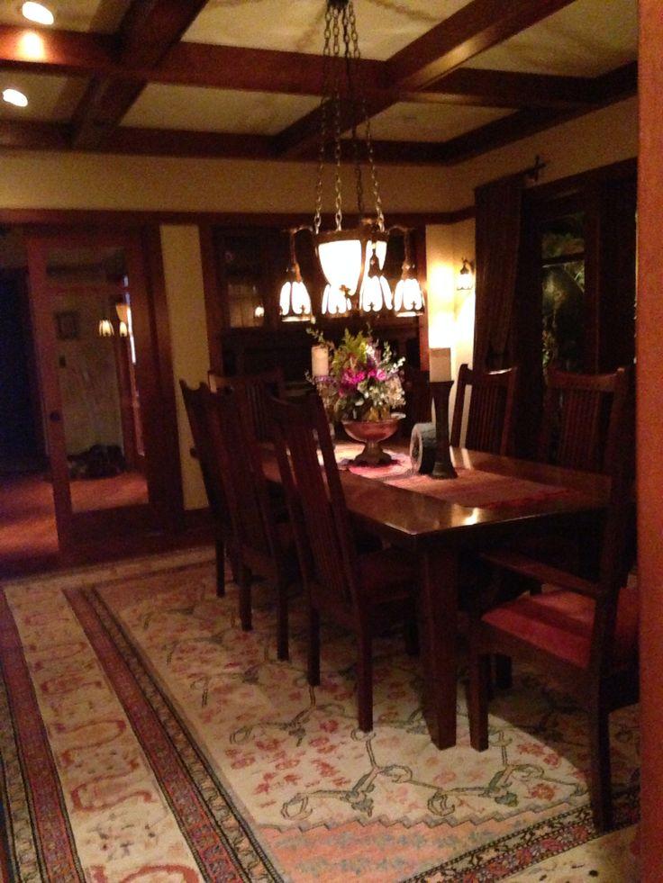 25 Craftsman Dining Room Design Ideas Decoration Love