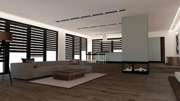 Interior design sample by Selma A  Chic Minimal Interior