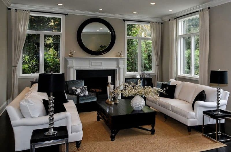 27 Small Living Room Designs D 233 Cor Outline