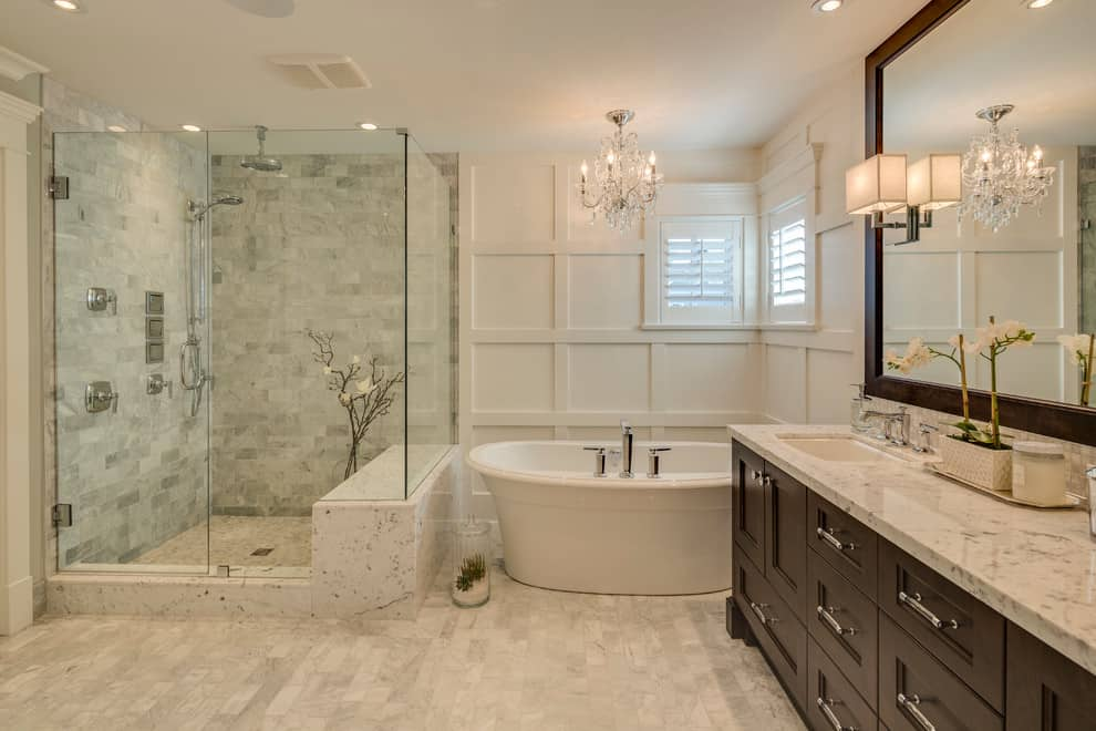 WOW  200  Stylish Modern Bathroom Ideas   Remodel   Decor Pictures  Clay Construction Inc