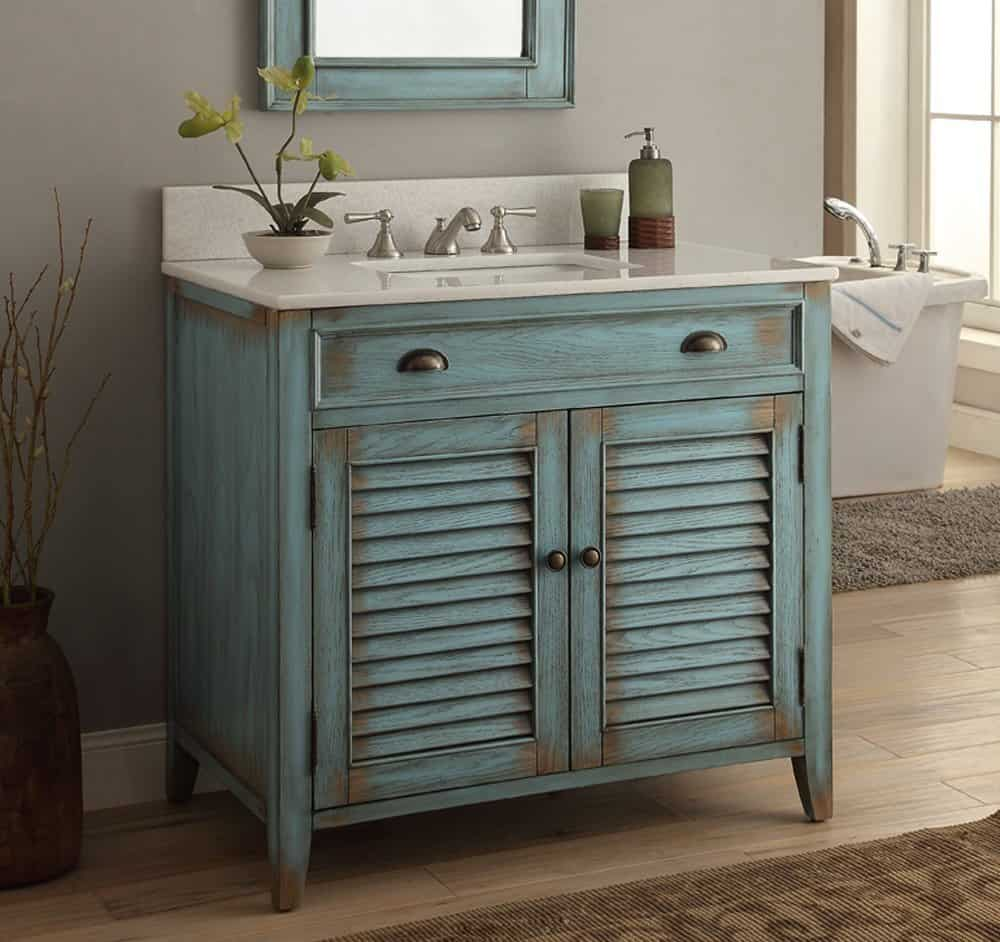 Very Cool Bathroom Vanity and Sink Ideas  Lots of Photos   36  Cottage look Abbeville Bathroom Sink Vanity Cabinet