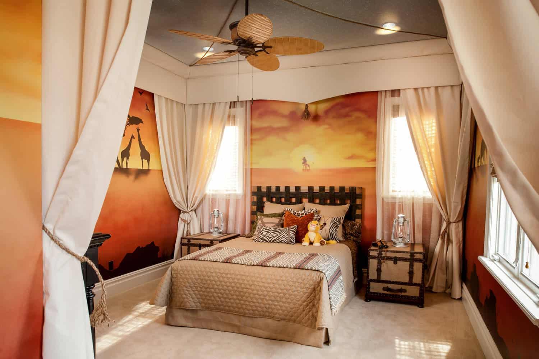 African Bedroom Decorating Ideas