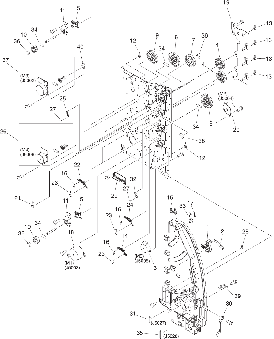 Enww illustrations and parts lists485
