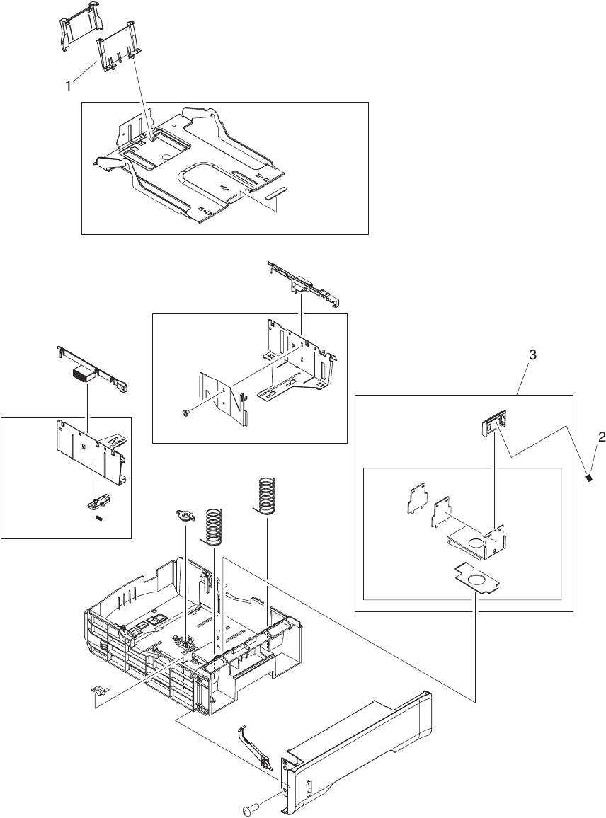 Enww illustrations and parts lists509