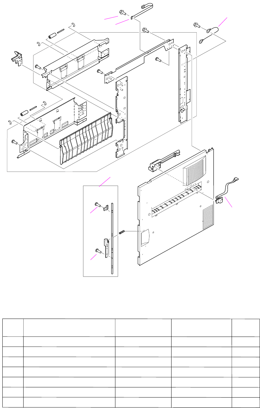 Illustrations and parts lists 265