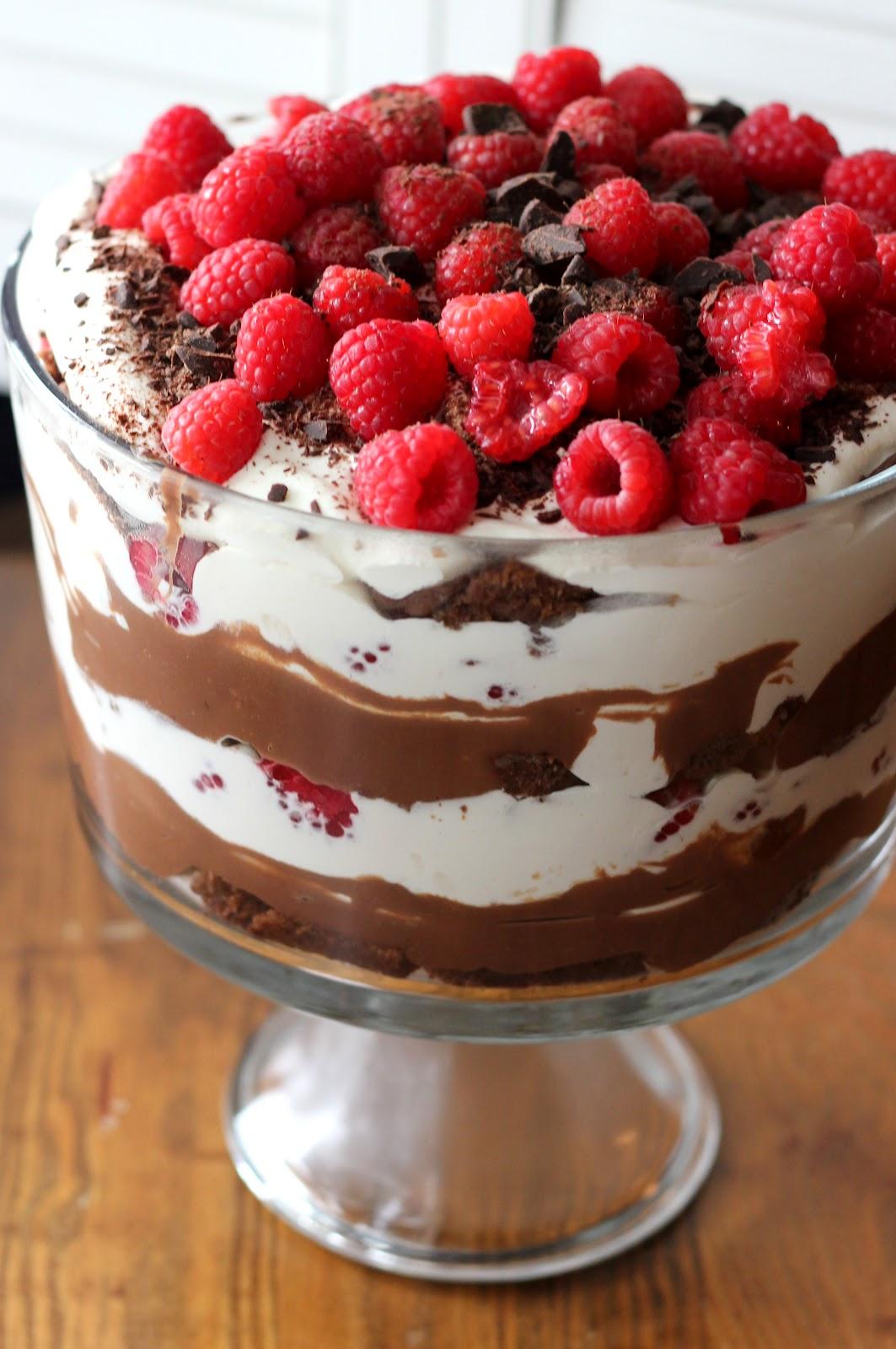Trifle Cake Cherries